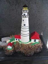 1992 Danbury Mint Boston Light Historic American Lighthouses