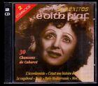 EDITH PIAF - 30 Chansons De Cabaret - SPAIN 2 x CD Astro 1998 - Como Nuevo