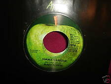 Mary Hopkin Temma Harbour APPLE 1816 Vinyl 45