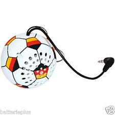 """1x """"Sound2Go"""" Fußball Minispeaker Deutschland für Handy, Laptop usw. NEU"""