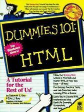 For Dummies Ser.: Dummies 101 : HTML by Dummies Technical Press Staff (1998,...