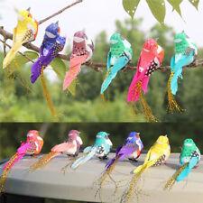 Fake birds artificial feather foam doves wedding decoration venue ornament SG