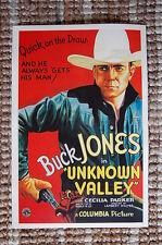 Unknown Valley Lobby Card Movie Poster Western Buck Jones