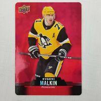 2020-21 Upper Deck Tim Hortons NHL Hockey Card #DC-27 Evgeni Malkin Red Die Cut