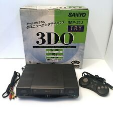BOXED Sanyo 3DO TRY IMP-21J Video Game Console Working