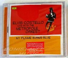 ELVIS COSTELLO LIVE THE METROPOLE ORKEST - MY FLAME BURNS BLUE - 2 CD Sigillato