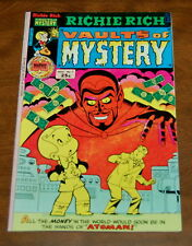 Richie Rich: Vaults Of Mystery #7 Fn/Vf Harvey -Mr. Rich, Cadbury, Little Lotta