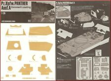 Show Modelling Pz.Kpfw Panther Ausf.A Zimmerit Coating for 1/35 Scale Model Kit