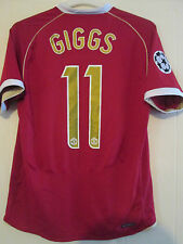 Manchester United 2006-2007 Giggs 11 Home Football Shirt Size Adult medium 39561