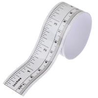 Self Adhesive Rulers Metric Measure Tape Sewing Machine Sticker Tool Ru@J zc