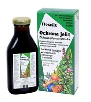 Floradix IntestCare, Magnesium, Apple-Plum,Turmeric,Digestive Support, FREE P&P