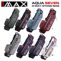 Big Max Aqua SEVEN Waterproof 4-WAY Golf Stand Bag - NEW! 2021 *ALL COLOURS*
