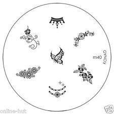 Originale Konad stamping stencil per stamping VERNICE m40