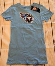 LZ NFL Girl s Medium Tennessee Titans Short Sleeve T-Shirt Tee T Shirt NEW  R14 0a669e6a8