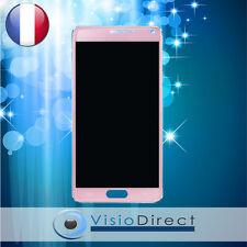 Vitre tactile + écran LCD pour Samsung Galaxy Note 4 N9100 SM-N910F rose