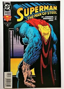 Superman: The Man of Steel #33 (May 1994, DC) VF/NM