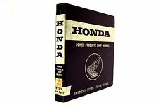 HONDA EX1000 GENERATOR SHOP MANUAL (#268)