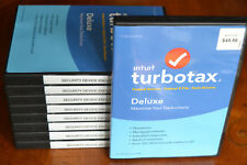 2016 TurboTax Deluxe Federal +State Turbo Tax New sealed CD in DVD case FREE S/H
