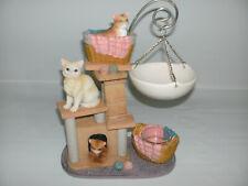 Yankee Candle Wax Tart Burner Warmer Kitten Hanging Cat Tree Design 1301474