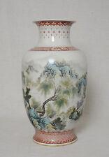 Chinese  Famille  Rose  Porcelain  Vase  With  Studio  Mark     M2509-1