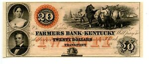 $20   Frankfort, Farmers Bank of Kentucky