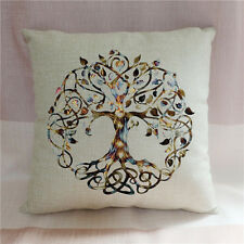 Tree of life pillowcase decorative throw pillow cover cushion case sofa decor