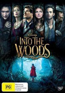Into The Woods DVD PG Adventure - Region 4 - Family Kids Disney Movie