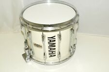 """Yamaha 14"""" Marching Band Snare Drum White"""