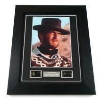 CLINT EASTWOOD Signed PREPRINT CLINT EASTWOOD FILM CELLS Movie Memorabilia GIFTS