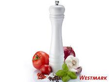 WESTMARK weiße Salzmühle / Pfeffermühle CLASSIC WHITE 24 cm Keramik-Mahlwerk