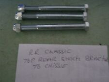 range rover classic early rear shocker bracket top mounting bolts x 3