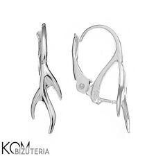 Sterling Silver 925 leverback earring kz 39 - 1 pair