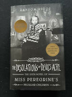 New The Desolations of Devil's Acre Miss Peregrine's by Ransom Riggs Signed 1st