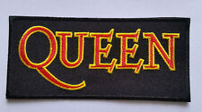 PUNK ROCK HEAVY METAL MUSIC SEW ON / IRON ON PATCH:- QUEEN (a) FREDDIE MERCURY