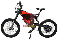Black 48V 1500W FC-1 Bomber Electric Bicycle Super Mountain EBike+37.5Ah Battery