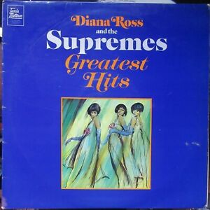 DIANA ROSS & THE SUPREMES GREATEST HITS Tamla Motown STML 11063