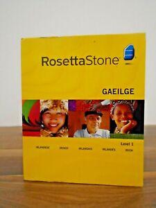 Rosetta Stone Level 1 Language CD Rom - Irish/Gaeilge Windows/Mac