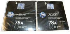NEW HP 78A CE278A CE278D Dual Genuine Pack Black Laserjet Toner FACTORY SEALED