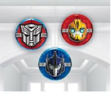 TRANSFORMERS Honeycomb Hanging Decorations 13.9cm Pack of 3