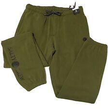 Salty Crew Slow Roll Sweatpant Elastic Men's Long Pants Military Size Med  T98