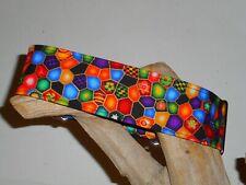 Venetian Glass Mosaic 2 Inch Custom Made Martingale Dog Collar
