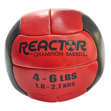 Reactor by Champion Barbell™ Medicine Ball 4-6 lb. - Red