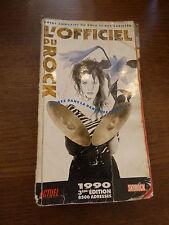 l' officiel du  rock - guide annuaire du rock et des variétés - 1990