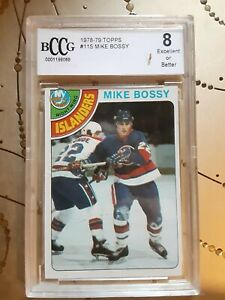 1978-79 Topps Mike Bossy Rc BCCG 8
