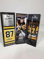 2020 Sidney Crosby Tim Hortons Limited Edition NHL Stick / Locker * DAMAGED *