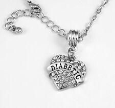 Diabetic Necklace Diabetic Gift Diabetes chain Diabetic Present  Diabetic Jewelr