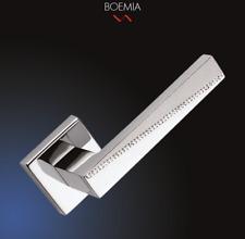 Maniglia per porte interne BOEMIA ARIENI modern quadrata cromo lucido e satinato