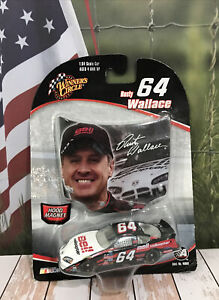Car 1:64 Diecast WC Rare Rusty Wallace Dodge Bell Helicopter #64 2004 Race Hood