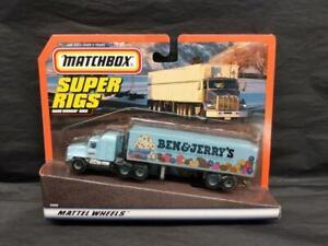 1997 Matchbox Super Rigs Ben & Jerry's Ice Cream Tractor Trailer,  MOC!