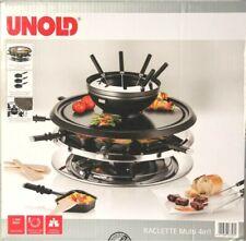 Raclette & Fondue, Unold, für 8 Personen, Natursteinplatte, UVP 129,99€, NEU!!!